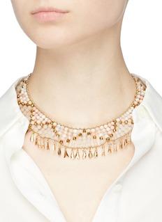 Rosantica Indios珠饰缀饰项圈