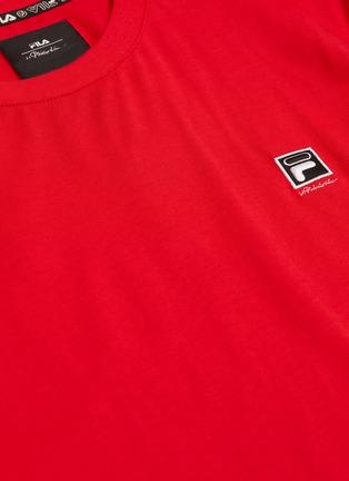- FILA x 3.1 Phillip Lim - Friends标语及logo涂鸦纯棉T恤