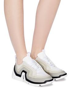 Pierre Hardy Vibe拼色真皮厚底运动鞋