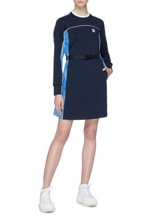FILA x 3.1 Phillip Lim 条纹背面拼接棉质连衣裙