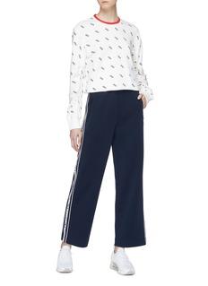 FILA x 3.1 Phillip Lim 皱褶衣袖品牌标志纯棉卫衣