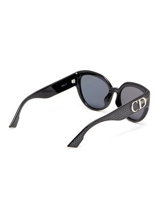 模特儿示范图 - 点击放大 - Dior - 品牌名称几何图案板材太阳眼镜