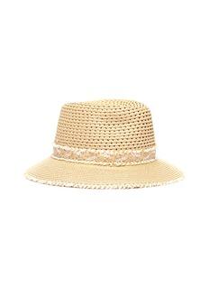 Eric Javits Lulu须边帽带编织渔夫帽