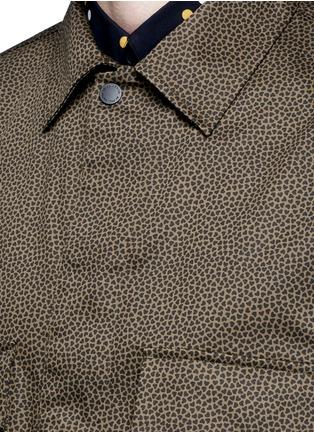 细节 - 点击放大 - PS BY PAUL SMITH - 心形印花棉质外套