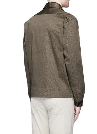 背面 - 点击放大 - PS BY PAUL SMITH - 心形印花棉质外套