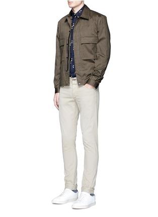 模特儿示范图 - 点击放大 - PS BY PAUL SMITH - 心形印花棉质外套