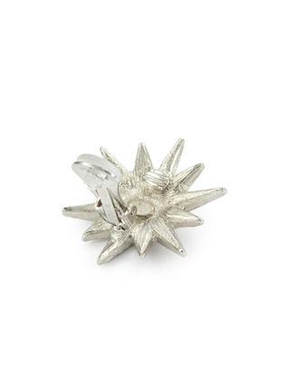细节 - 点击放大 - Kenneth Jay Lane - 仿水晶星星造型夹耳式耳环