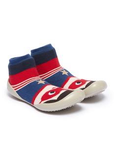 Collégien 幼儿款超人图案针织袜式运动鞋
