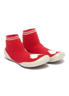 Collégien 幼儿款爱心图案针织袜式运动鞋
