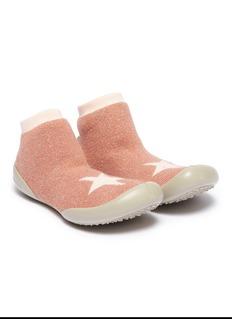 Collégien 幼儿款星星图案闪亮针织袜式运动鞋