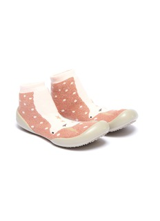 Collégien 幼儿款独角兽闪亮针织袜式运动鞋