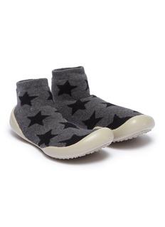 Collégien 幼儿款星星图案针织袜式运动鞋