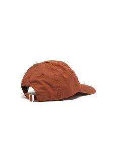 Acne Studios Carliy logo刺绣斜纹布棒球帽