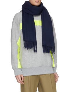 Acne Studios 流苏oversize羊毛围巾