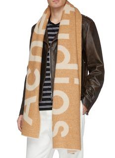 Acne Studios 品牌名称混羊毛围巾