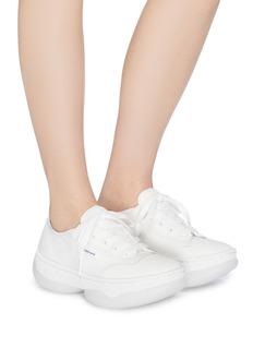 alexanderwang A1帆布oversize运动鞋