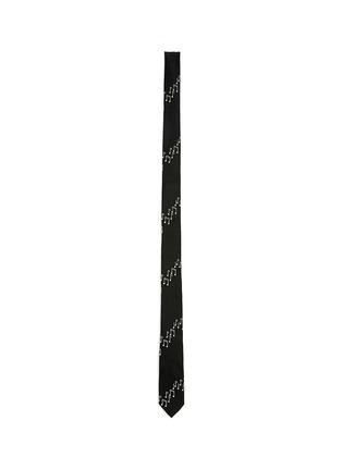 首图 - 点击放大 - SAINT LAURENT - 音符提花窄版真丝领带