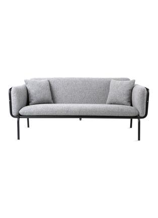 首图 –点击放大 - STELLAR WORKS - Valet两人座布艺沙发-灰色