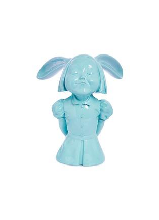 首图 –点击放大 - X+Q - 《我看到了幸福》玻璃钢雕塑-晴空蓝