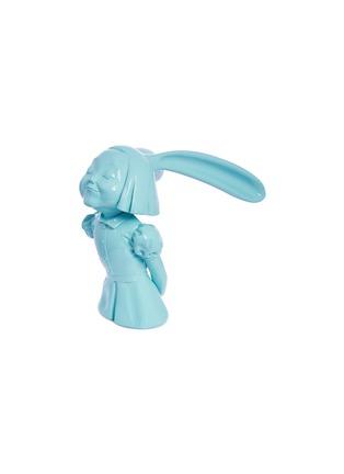 - X+Q - 《我看到了幸福》玻璃钢雕塑-晴空蓝