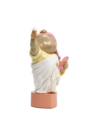 首图 –点击放大 - X+Q - 《幸运女神》玻璃钢雕塑