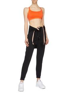 Victoria Beckham x Reebok logo无缝针织运动内衣