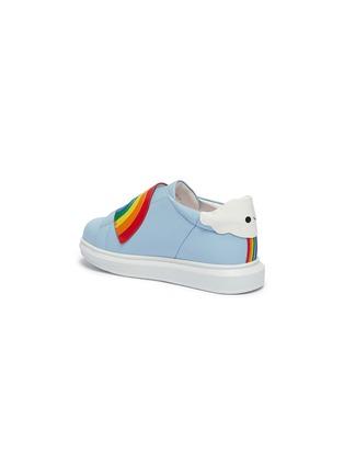 - WiNK - Popcorn儿童款彩虹搭带真皮运动鞋