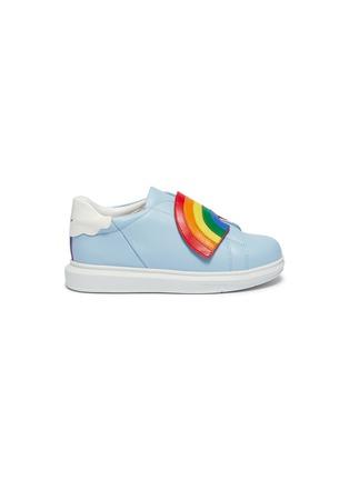 首图 - 点击放大 - WiNK - Popcorn儿童款彩虹搭带真皮运动鞋