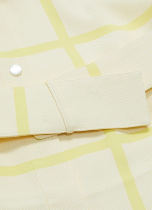 - Equipment - Edwidge条纹及暗格纹图案衬衫裙