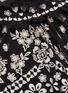 - Needle & Thread - Esme Day花卉刺绣木耳边透视薄纱上衣