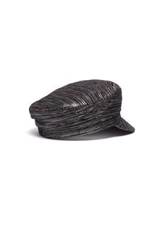 Isabel Marant Evie闪亮丝线短檐帽