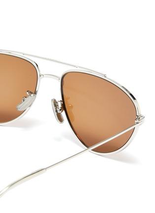 细节 - 点击放大 - CELINE - 金属框飞行员太阳眼镜