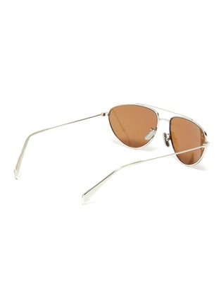 模特儿示范图 - 点击放大 - CELINE - 金属框飞行员太阳眼镜