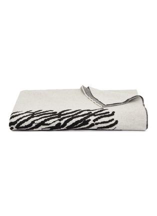 首图 –点击放大 - Tom Dixon - Dash景观图案针织盖毯-黑白色