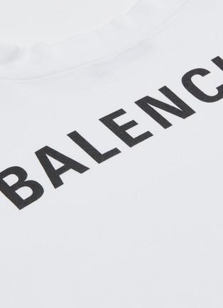 - Balenciaga - Droopy logo纯棉T恤