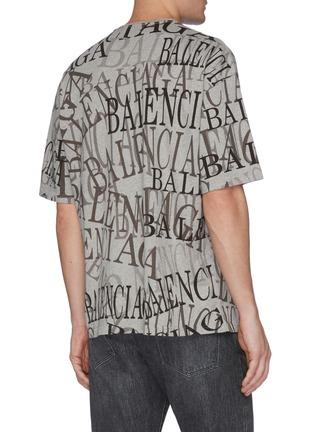 背面 - 点击放大 - Balenciaga - Chinatown搭叠logo纯棉T恤