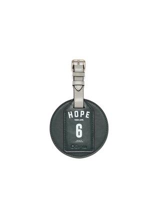 首图 –点击放大 - OOKONN - x Studio Concrete真皮行李牌-6 Hope