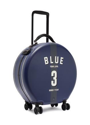 - OOKONN - x Studio Concrete圆形行李箱(30升)-3 Blue
