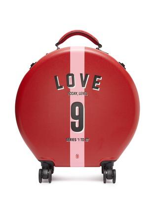 首图 –点击放大 - OOKONN - x Studio Concrete圆形行李箱(30升)-9 Love