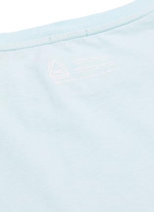 - DENHAM - Rising Sun纯色纯棉T恤