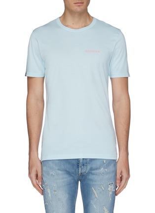 首图 - 点击放大 - DENHAM - Selvedge Surfer英文字及品牌名称缩写纯棉T恤