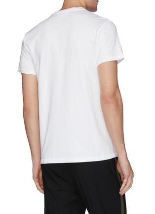 背面 - 点击放大 - HELMUT LANG - Masc Little HL logo纯棉T恤