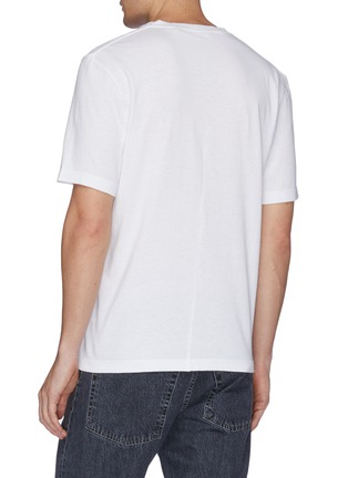 背面 - 点击放大 - Helmut Lang - KOLLEKTION拼贴纯棉T恤