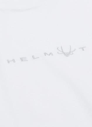 - Helmut Lang - Alien logo刺绣T恤