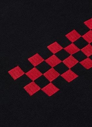 - Haider Ackermann - 格纹刺绣纯棉针织衫