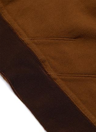 - Haider Ackermann - Moonshape绗缝细节拼色抽绳纯棉休闲裤