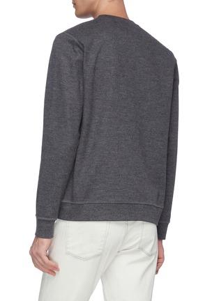 背面 - 点击放大 - NORSE PROJECTS - Vagn混羊毛纯色卫衣