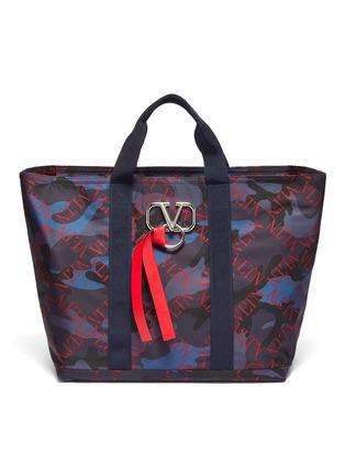 首图 - 点击放大 - Valentino - Valentino Garavani VLTN菱格迷彩手提包