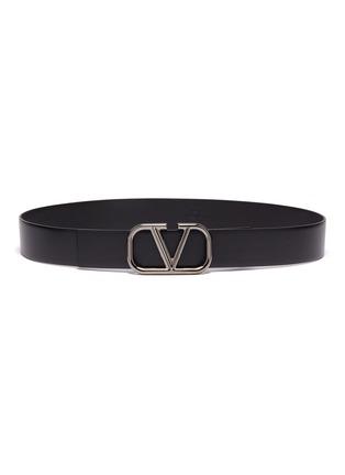 首图 - 点击放大 - Valentino - Valentino Garavani 'VLOGO' buckle leather belt