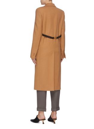 背面 - 点击放大 - BOTTEGA VENETA - 纯色羊毛大衣